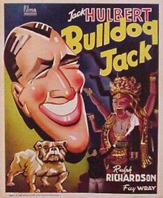 Bulldog Jack - UK film poster