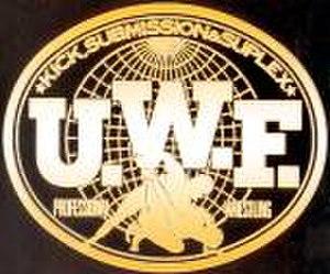 Universal Wrestling Federation (Japan) - Image: UWF logo