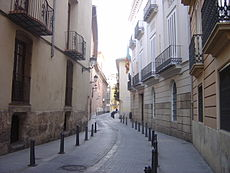 A narrow street of the Old Medieval City.