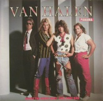 Panama (song) - Image: Van Halen Panama