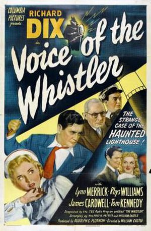 Voice of the Whistler - Theatrical release poster