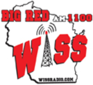 WISS (AM) - Image: WISS Big Red 1100 logo