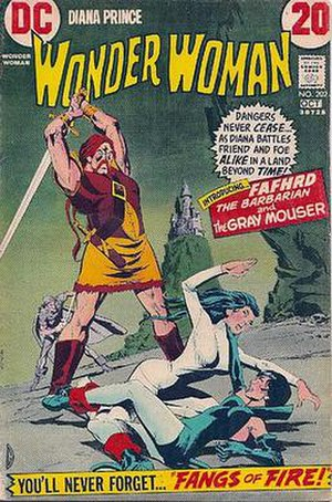Fafhrd and the Gray Mouser - Fafhrd and the Gray Mouser premiering in DC Comics in 1972.