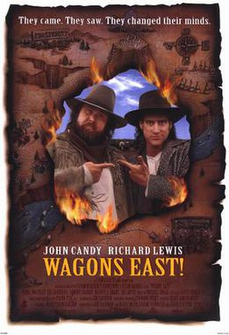 Wagons East! - Theatrical release poster