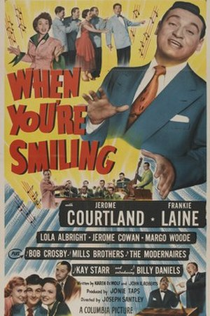 When You're Smiling (film) - Theatrical release poster