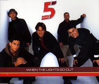 When the Lights Go Out - Image: When the Lights Go Out (Five album cover art)
