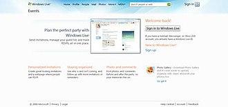 Windows Live Events - Windows Live Events