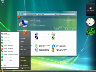 Features new to Windows Vista - Windows Aero, Windows Vista's graphical user interface