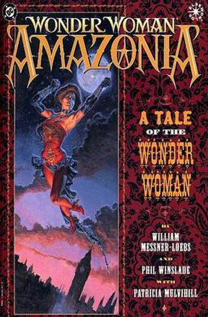 Wonder Woman: Amazonia - Cover to Wonder Woman: Amazonia (1997). Art by Phil Winslade.