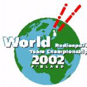 Radiosport - The World Radiosport Team Championship 2002 was held in Helsinki, Finland.