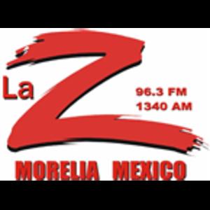 XHCR-FM - Image: XHCR La Z96.3 1340 logo