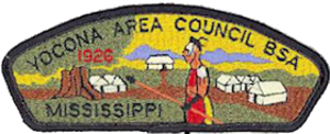 Scouting in Mississippi - Image: Yocona Area Council CSP