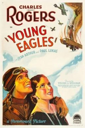 Young Eagles (film) - Theatrical release poster