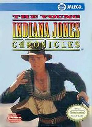 The Young Indiana Jones Chronicles (video game) - Cover art