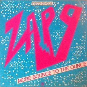 More Bounce to the Ounce - Image: Zapp More Bounce to the Ounce single cover