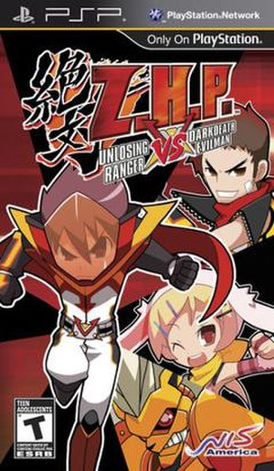 Z.H.P. Unlosing Ranger VS Darkdeath Evilman - North American box art