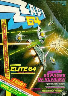 <i>Zzap!64</i> Computer games magazine