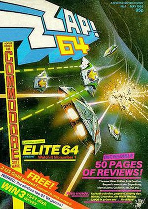 Zzap!64 - Image: Zzap 64 issue 1
