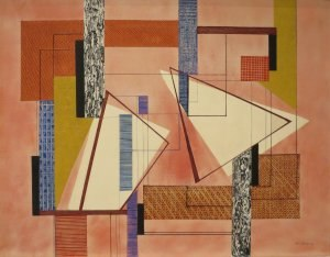 I. Rice Pereira - Abstraction by I. Rice Pereira, 1940, Honolulu Museum of Art