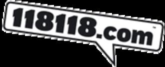 118 118 (UK) - 118 118 company logo