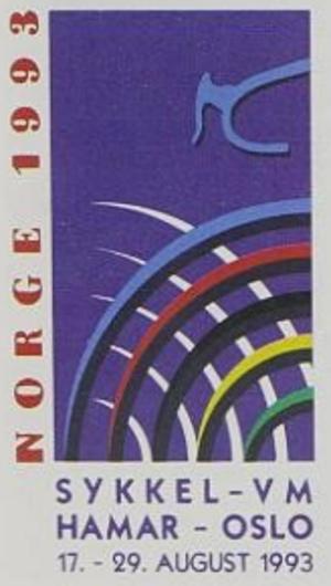 1993 UCI Road World Championships - Image: 1993 UCI Track Cycling World Championships logo