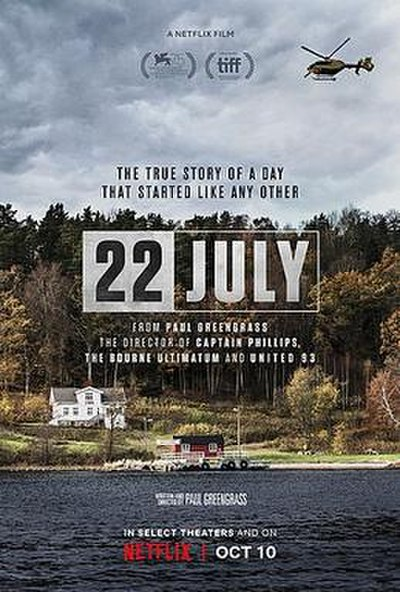 Picture of a movie: 22 July