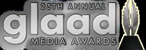 25th GLAAD Media Awards - Image: 25th GLAAD Media Awards Logo