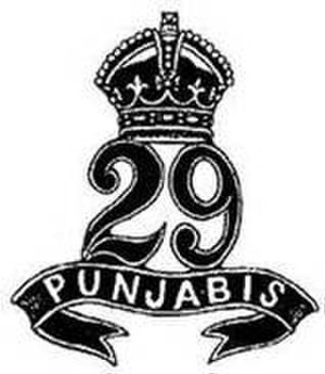 29th Punjabis - Image: 29 Punjabis badge