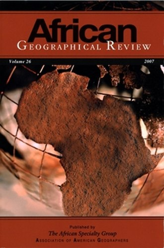 African Geographical Review - Image: AG Rcover