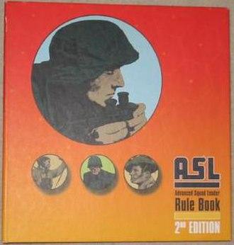 Advanced Squad Leader - Image: ASL Rulebook 2nd Edition