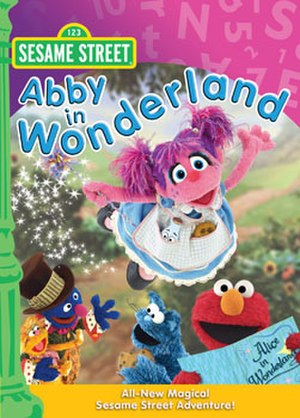 Abby in Wonderland - DVD coverart