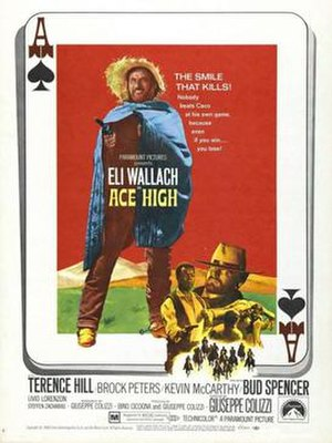 Ace High (1968 film) - US film poster