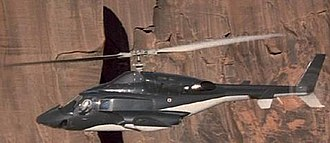Airwolf - Bell 222 as Airwolf.