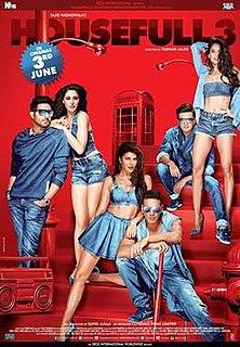<i>Housefull 3</i> 2016 Indian film