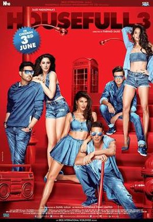 Housefull 3 - Theatrical release poster