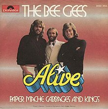 Alive bee gees song