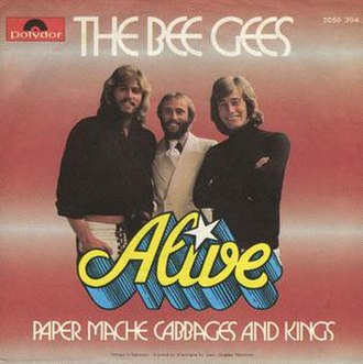 Alive (Bee Gees song) - Image: Alive 1
