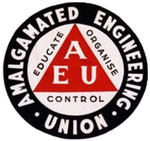 Amalgamated Engineering Union - Image: Amalgamated Engineering Union (Australia) logo