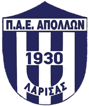Apollon Larissa F.C. - Image: Apollonlarissafcnewl ogo