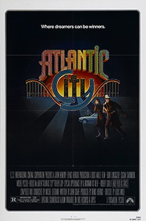 Atlantic City (1980 film) - Theatrical release poster