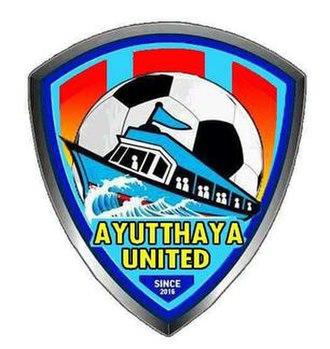 Ayutthaya United F.C. - Image: Ayutthaya united fc logo 2016