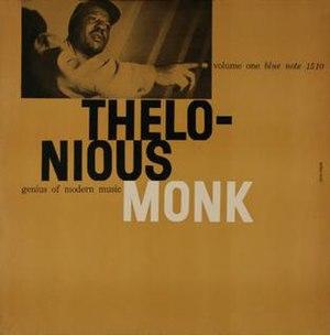 Genius of Modern Music: Volume 1 - Image: BLP 1510 Monk