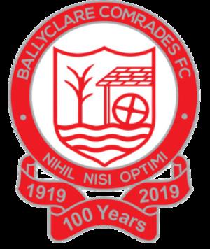 Ballyclare Comrades F.C. - Image: Ballyclare Comrades