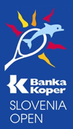 Banka Koper Slovenia Open - Image: Banka Koper Slovenia Open logo