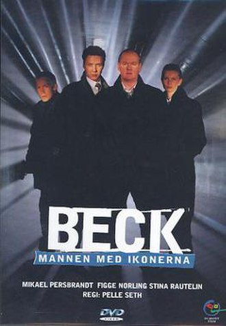 Beck – Mannen med ikonerna - Swedish DVD-cover