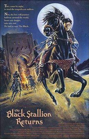 The Black Stallion Returns - Theatrical release poster