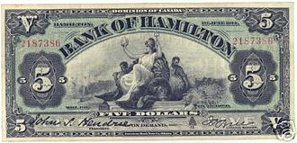Bank of Hamilton - Image: Bof Hamilton 1914