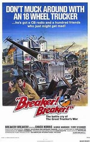 Breaker! Breaker! - Theatrical release poster