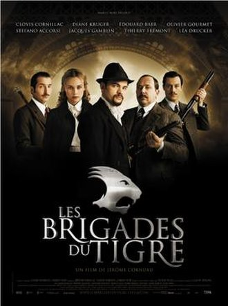 Les Brigades du Tigre - French movie poster.