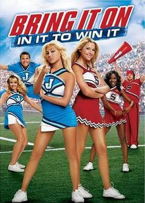 Bring It On: In It to Win It - DVD cover